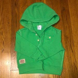 Ralph Lauren green thermal / size 9M